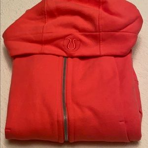Pink scuba hoodie maybe worn a few times max !!!